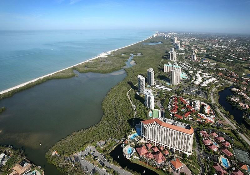 Pelican Bay Aerial View