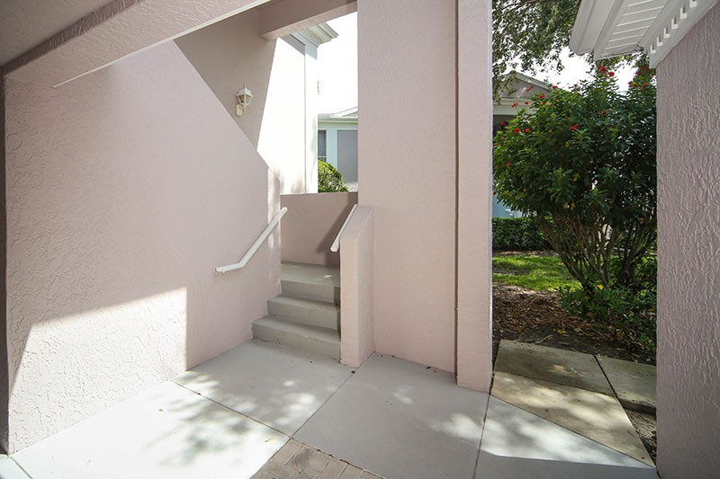 Stairs to Property