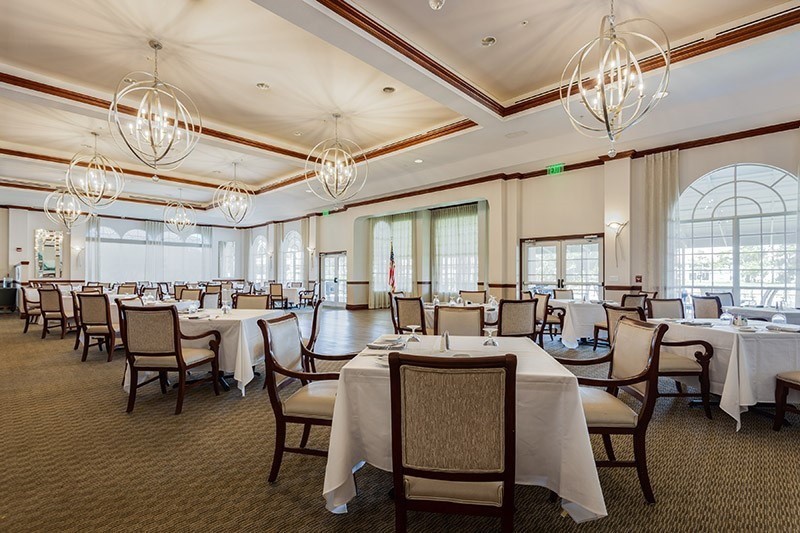 Clubhouse Dining Indoors