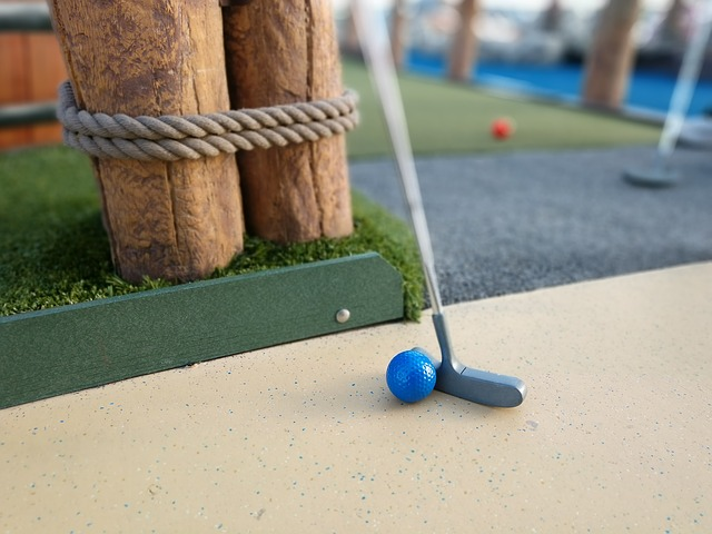 Mini golf in Naples, Florida