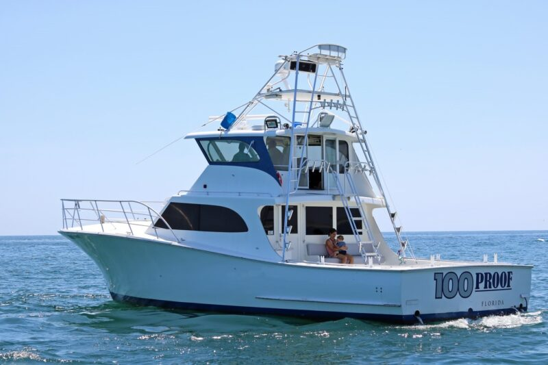 charter boat off the florida gulf