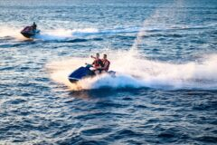 friends jet ski in naples
